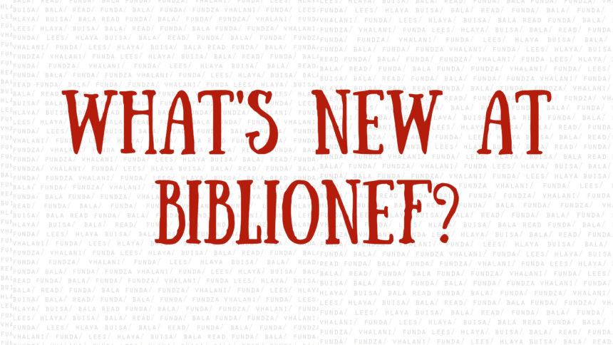 Whats new at Biblionef